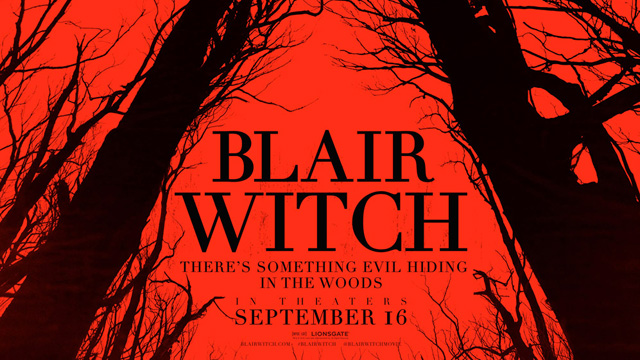 blair witch - Blair Witch : fuir, se cacher, et surtout arrêter de filmer Blair Witch poster s
