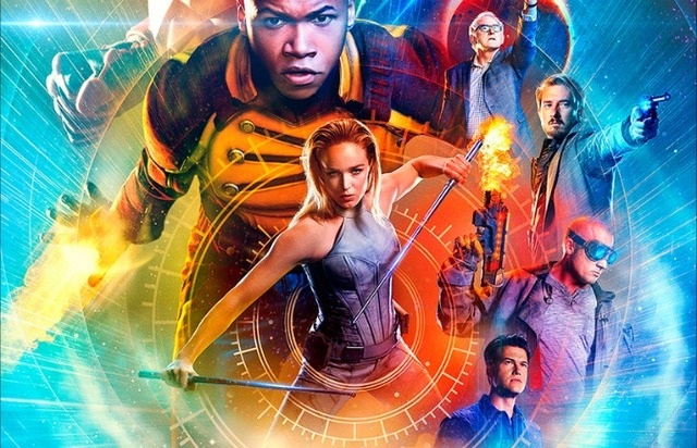 cw - Legends of Tomorrow : tout un paradoxe Legends of Tomorrow season 2 poster new team