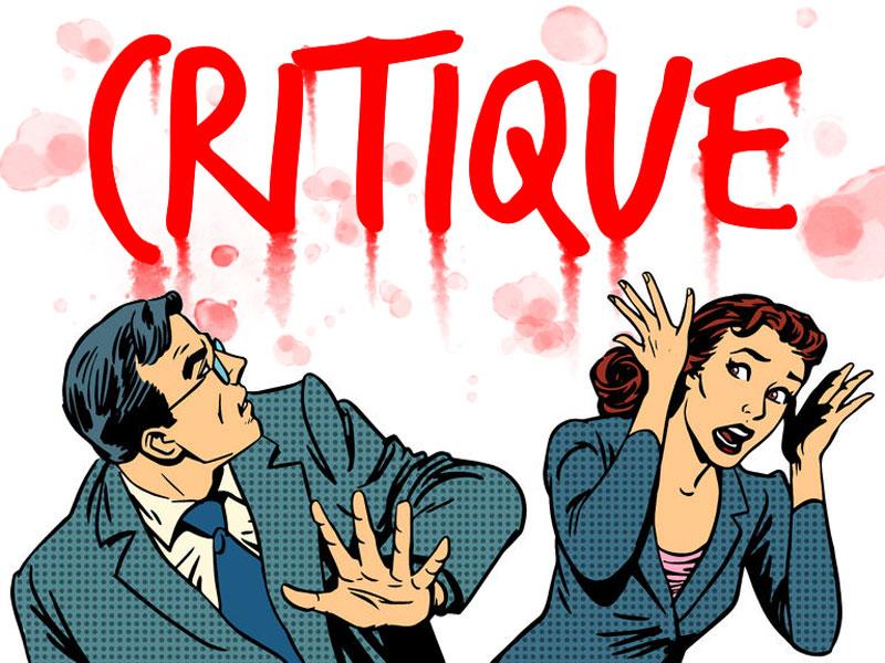 critique - La critique négative est-elle encore autorisée ? critiqueisnotscary