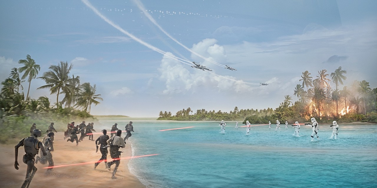 Rogue One, A Star Wars Story : la bande annonce !
