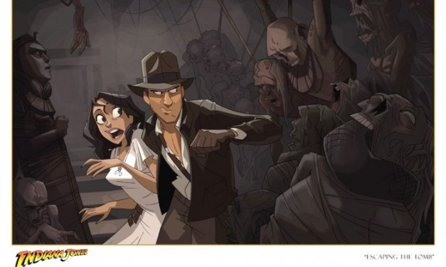 Indiana Jones en court métrage animé