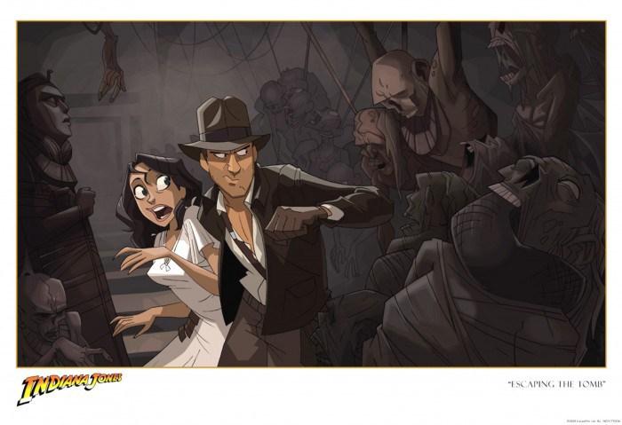 Indiana Jones en court métrage animé