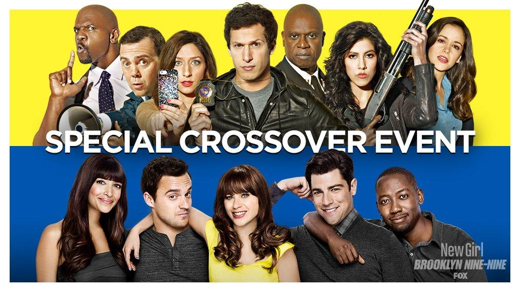 New Girl - Teaser pour le crossover entre Brooklyn Nine-Nine et New Girl new girl brooklyn nine nine