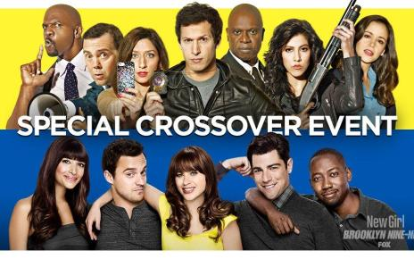 Brooklyn Nine-Nine - Teaser pour le crossover entre Brooklyn Nine-Nine et New Girl new girl brooklyn nine nine