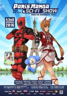 Sorties - Paris Manga 22e édition : pleine de bonne volonté 228442 paris manga et sci fi show 2016 le salon des fans de japanimation