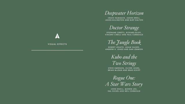 nominations - Oscars : 14 nominations pour La La Land NOMINATIONS oscars 1 13