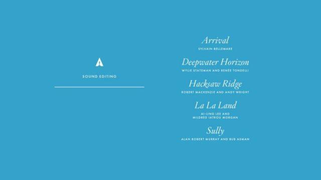 nominations - Oscars : 14 nominations pour La La Land NOMINATIONS oscars 1 3