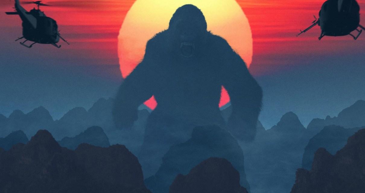 Critique de remakes - Kong : Skull Island, trop bon trop Kong (spoilers indiqués, scène post-générique) kong skull island 2017 movie 2 wide