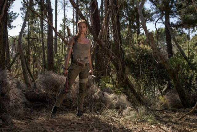 Alicia Vikander - TOMB RAIDER : premier trailer pour le retour de Lara Croft au cinéma tomb raider alicia vikander 1