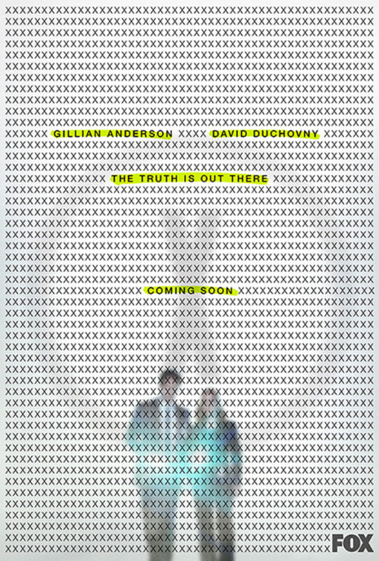 x-files - X-Files reviendra pour une saison 11 the x files teaser poster  saison 11 2017