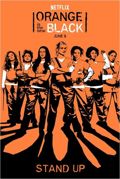 Orange is the new black saison 5 - Orange is The New Black saison 5 : Girl Power ! (Bilan de la saison) Affiche OITNB saison5 e1501852123181