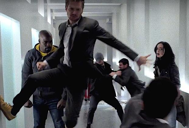 daredevil - The Defenders : des poings c'est tout