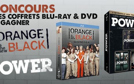 concours - CONCOURS : gagnez des intégrales Orange Is The New Black et Power concoursORANGEPOWER 1