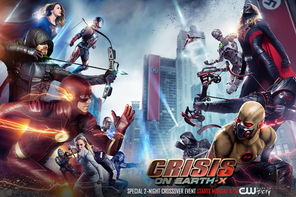 Crisis on Earth-X : le crossover qu'on n'attendait plus entre Supergirl, Arrow, Flash et Legends of Tomorrow