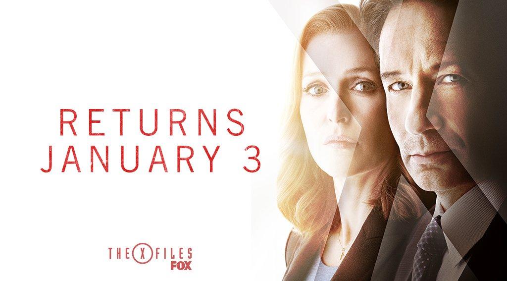 x-files - X-Files : la saison 11 en janvier + poster saison 11