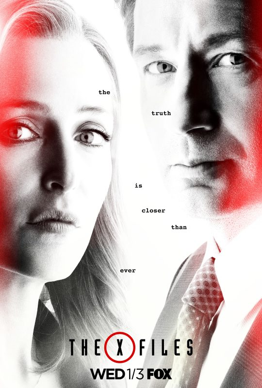 x-files - X-Files : la saison 11 en janvier + poster the x files season 11 poster