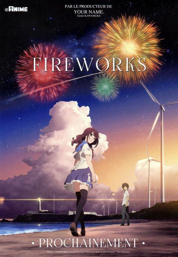 Fireworks: L'animé japonais tant attendu dévoile sa nouvelle bande-annonce.