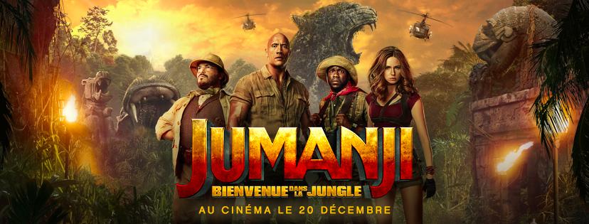 Critiques de suites - Jumanji : jeu malin (sans spoilers) jumanji 2 rock critique