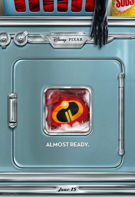 pixar - Bande-annonce des Indestructibles 2 Washing machine Incredibles 2