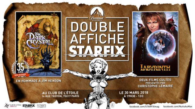 bits - Dark Crystal et Last Action Hero au Club de l'Etoile Ecran Double Prog Starfix 1