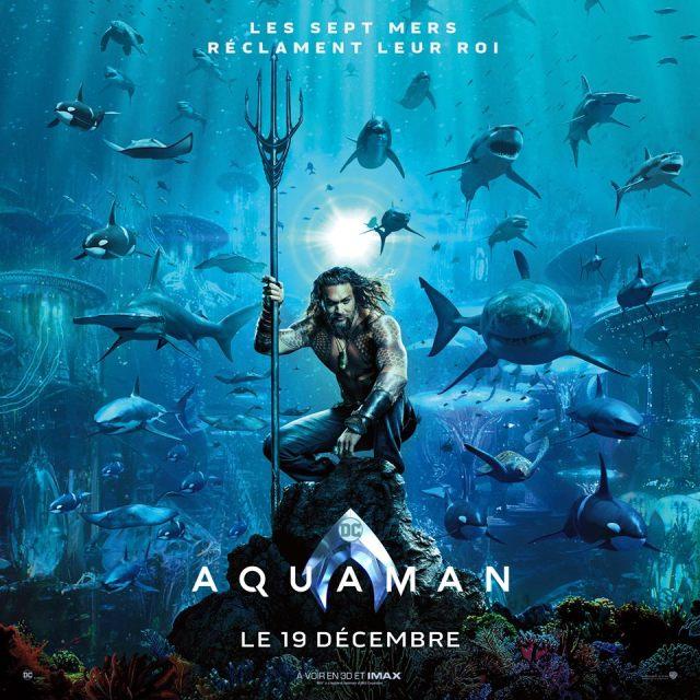 aquaman - Doctor Who tease, Les Razmokets reviennent et Aquaman s 'affiche