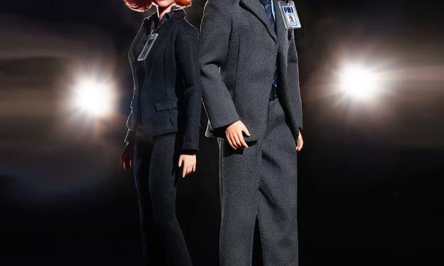 Des nouvelles Barbie pour les 25 ans de The X-Files