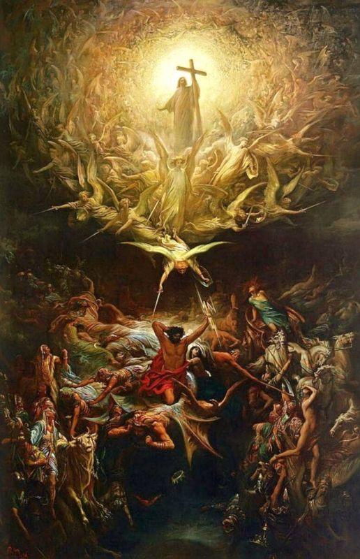 - Les oeuvres d'art dans les films et séries The Triumph of Christianity Over Paganism