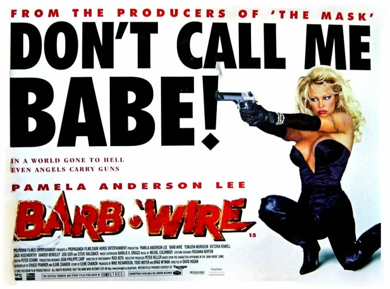 Barb Wire (1996): « v'nez on adapte un comics avec Pamela Anderson »