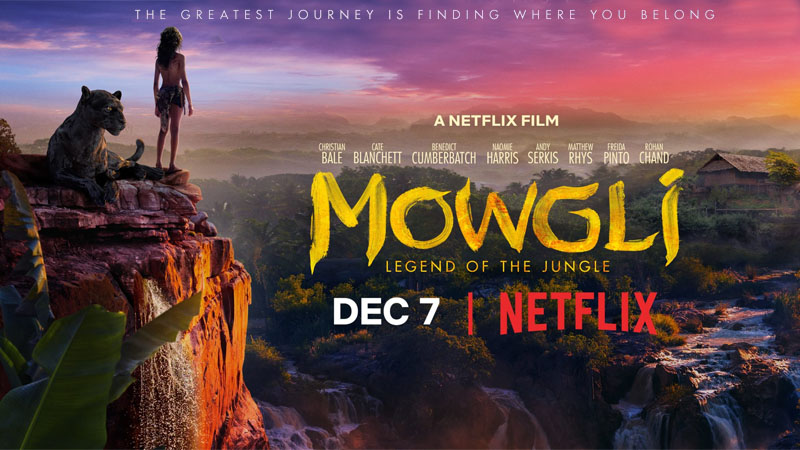 Mowgli (Netflix), une adaptation du Livre de la Jungle par Andy Serkis