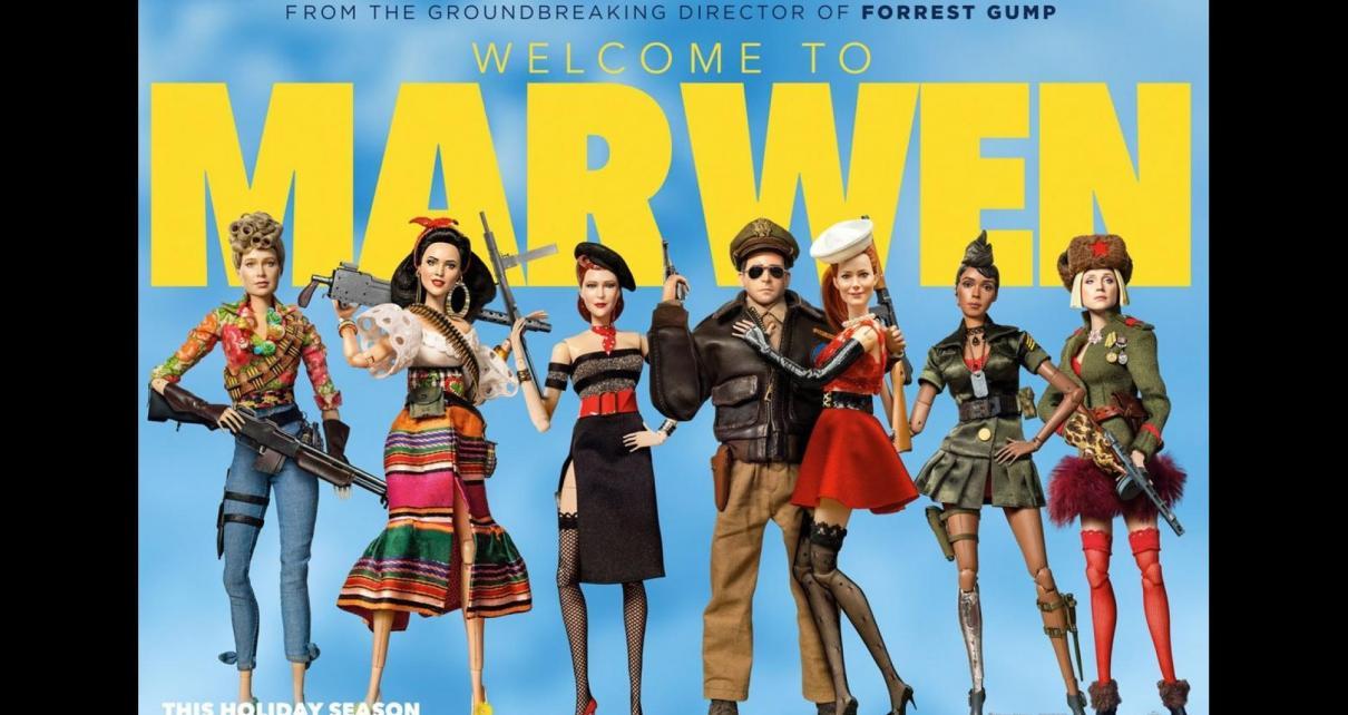 bienvenue à marwen - Bienvenue à Marwen : Zemeckis, Carell, histoire vraie, et pourtant welcome to marwen critique