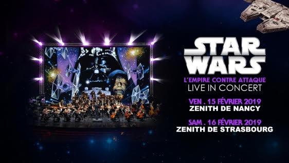 ciné-concert - Star Wars 5 et 6 en ciné-concert en 2019