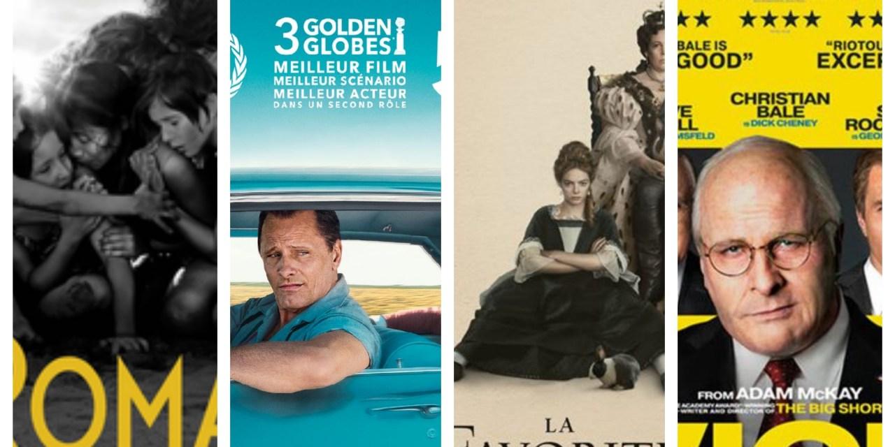 Roma, Green Book, La Favorite, Vice : retour sur les nommés aux Oscars du meilleur film #2