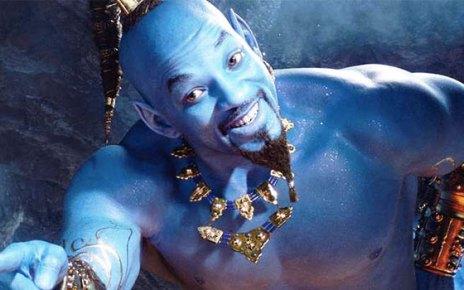 aladdin - Aladdin : un rêve bleu, n'est-ce pas merveilleux? Enfin une bande-annonce ! aladdin will smith se decouvre en genie bleu video 649