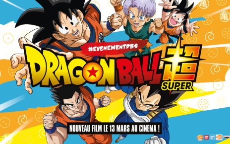 dragon ball super broly - Un train aux couleurs de DRAGON BALL SUPER