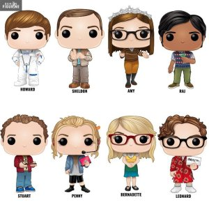 funko - Community, The Office, Dawson, Xena, Men In Black, Pretty Woman, des tonnes de Funko arrivent ! funko big bang theory 1