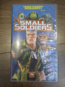joe dante - Small Soldiers (1998):  rêve d'antan? small soliders vhs