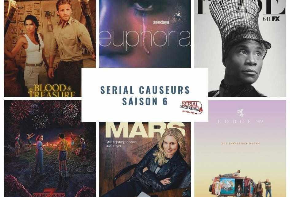 podcast - Euphoria, La Casa de Papel, Pose... Le bilan des séries de l'été par Serial Causeurs, votre podcast séries