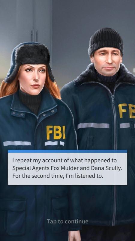storyscape - Titanic et X-Files débarquent en jeu mobile avec Storyscape storyscape x files screenshot 3