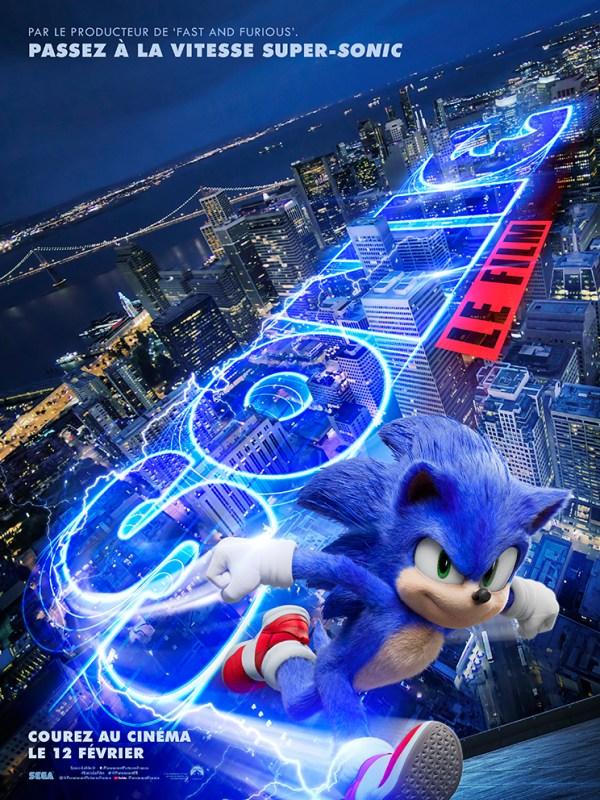 sonic - Sonic revient avec une nouvelle tête dans une nouvelle bande-annonce affiche sonic