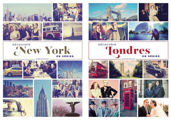 new york - Serial Causeurs vous fait gagner les deux livres Découvrir New-York et Londres en séries ! marion miclet livres