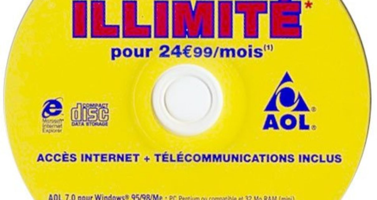internet - 20 ans sur le web : de Winamp à l'ADSL en passant par Enlarge Your Penis aol illimite internet 1999