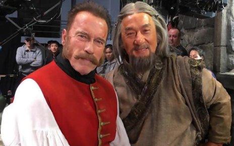 arnold schwarzenegger - Schwarzy et Jackie Chan font les foufous dans The Iron Mask