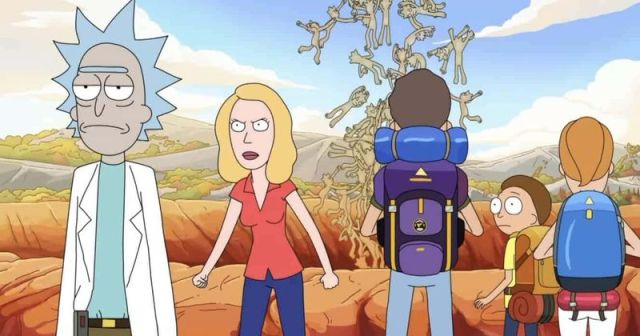 rick and morty - Rick and Morty saison 4 épisodes 7 à 10 4×09 Childrick of Mort