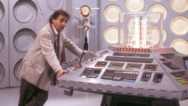 doctor who - Doctor Who (1963-1996) – Sylvester McCoy, Le Septième Docteur Doctor Who Sylvester McCoy TARDIS