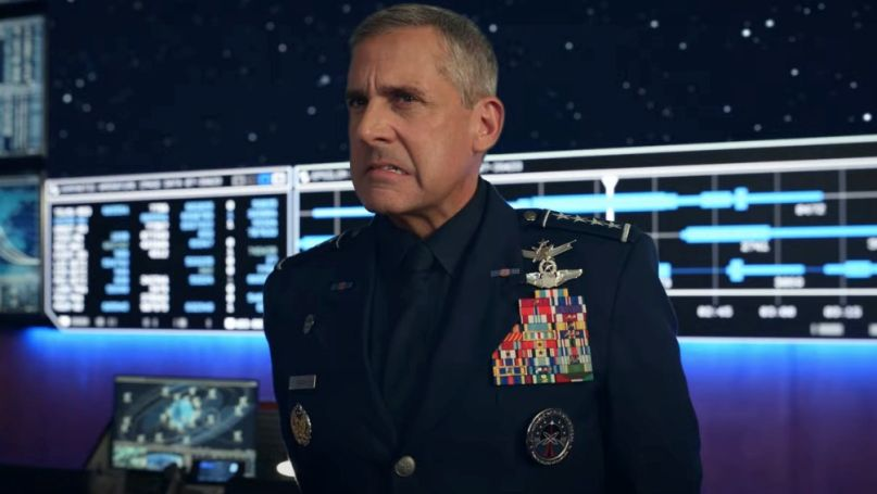 Actus - Space Force, une saison 1 à la hauteur ? Steve Carell in Space Force