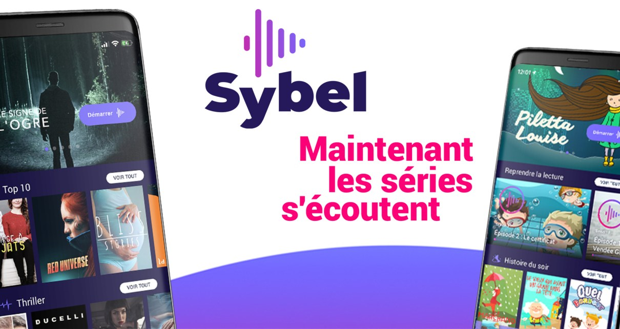 Sybel-application-fictions-audio-podcast
