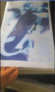 x-files - X-Files : des concept arts de l'affiche du premier film dévoilés Concept Art FTF 7
