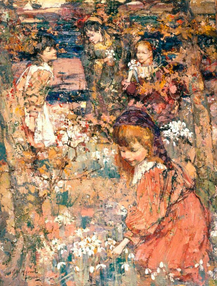 Hornel, E.A. - Springs Awakening - BUYGM.0220.1901