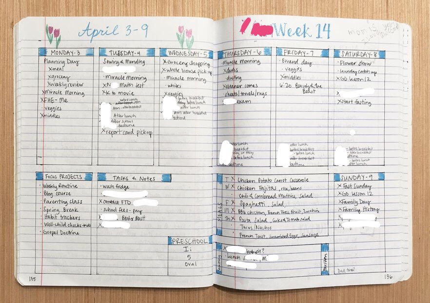 "<img class=""size-full wp-image-524"" src=""https://smallthingsovertime.com/wp-content/uploads/2018/04/img_2119.jpg"" alt=""Using a Bullet Journal to Change Your Life - weekly log 3"
