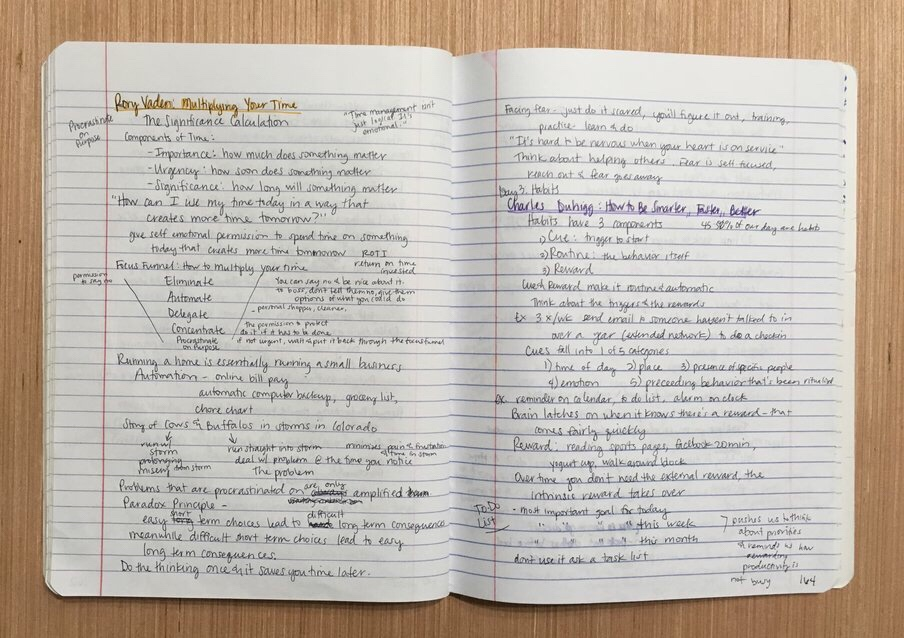 "<img class=""size-full wp-image-524"" src=""https://smallthingsovertime.com/wp-content/uploads/2018/04/img_2119.jpg"" alt=""Using a Bullet Journal to Change Your Life - notes"
